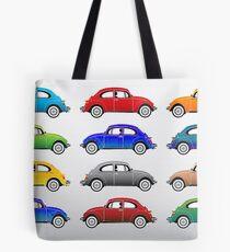 VW beetles  Tote Bag
