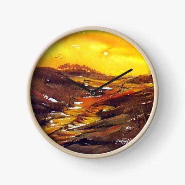 Crossroads - Abstract  Clock