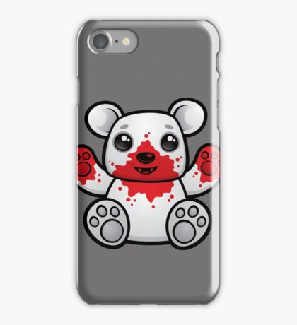 Polar Bear Cub First Kill iPhone Case/Skin