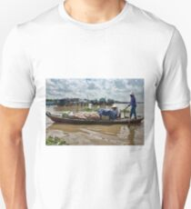 Flat Boat & Freighters T-Shirt
