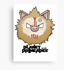 Planet of the Primeapes Canvas Print