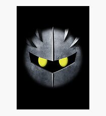Meta Knight Mask Photographic Print