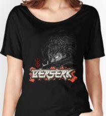 Berserk - Guts Glowin Eye Large Women's Relaxed Fit T-Shirt