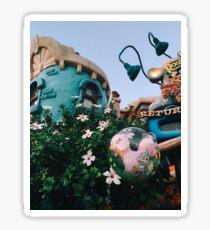 Toontown Flowers Sticker