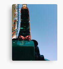 Upside Down California Sreamin' Canvas Print