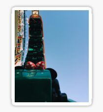 Upside Down California Sreamin' Sticker
