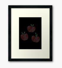 Ornate Applejack Cutie Mark Framed Print