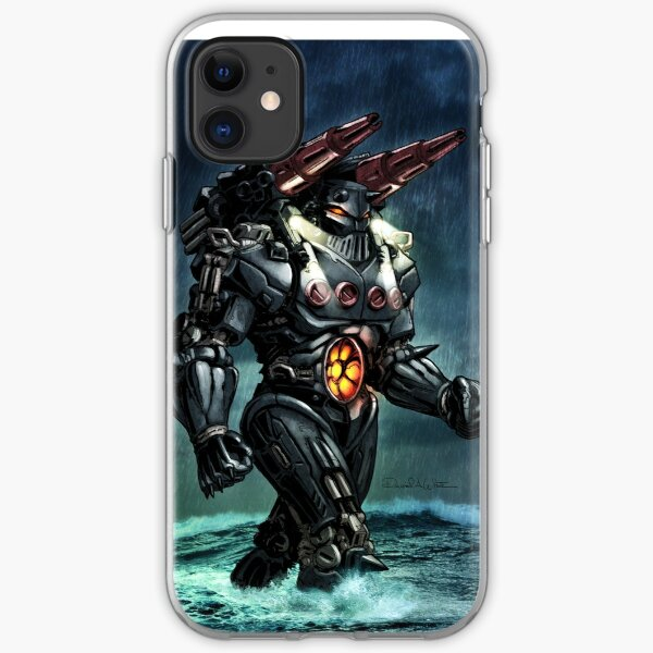 Mecha Baron Karza Jeager iPhone Soft Case