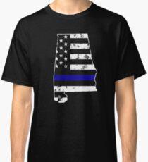 Alabama Thin Blue Line Police Classic T-Shirt