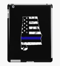 Alabama Thin Blue Line Police iPad Case/Skin