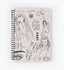 Cuaderno de espiral DETALLES
