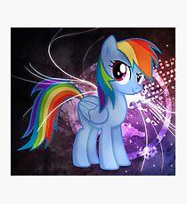 Regenbogen Fotodruck