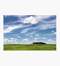 Blue Skies Photographic Print