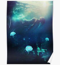 Versunken im Ozean Poster
