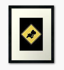 Yoshi Crossing Framed Print