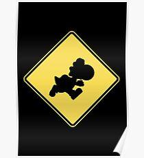 Yoshi Crossing Poster