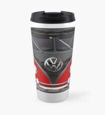 VW Kombi Bus red Travel Mug