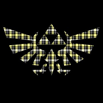 Zelda - Plaid Royal Crest by Colossal
