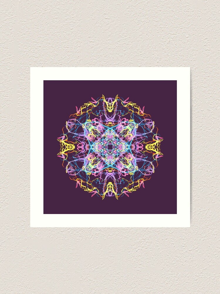 Alternate view of Floral Lights Art Print
