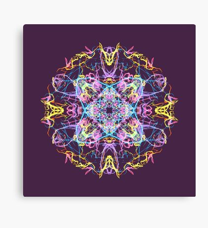 Floral Lights Canvas Print