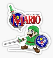 The Legend of Mario Sticker
