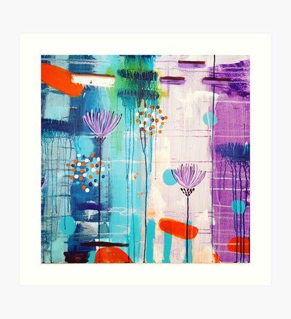 Summer In Bloom Art Print