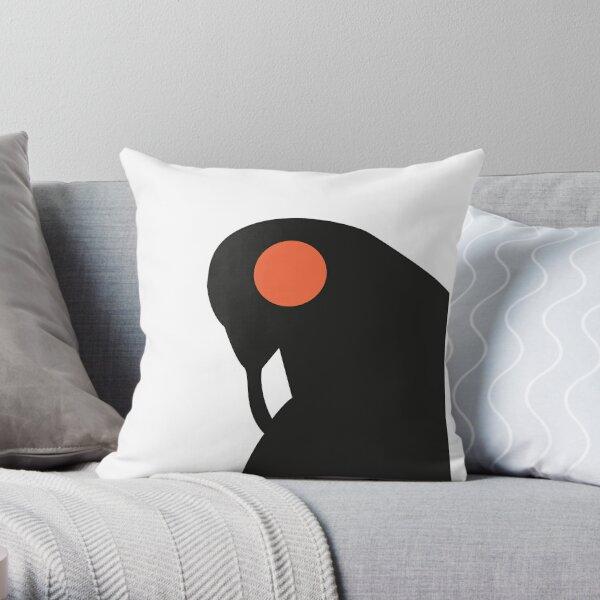 Songbird, Guardian of Columbia Throw Pillow