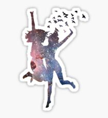 So Wrong, It's Right Galaxy Sticker