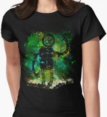 mad robot Womens Fitted T-Shirt