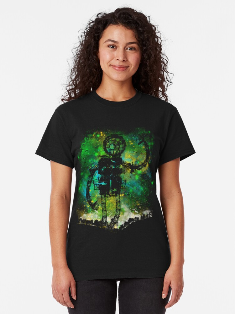 Alternate view of mad robot Classic T-Shirt