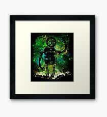 mad robot Framed Print