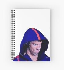 Phelps Face Spiral Notebook