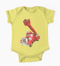 Toy Fire Engine One Piece - Short Sleeve