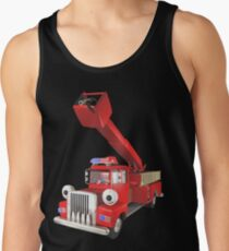 Toy Fire Engine Tank Top