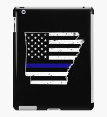 Arkansas Thin Blue Line Police iPad Case/Skin