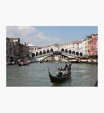 Ponte di Rialto Photographic Print