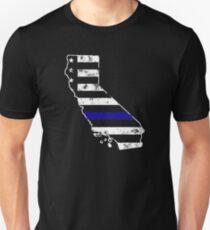 California Thin Blue Line Police T-Shirt