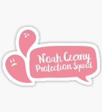Noah Czerny Protection Squad [The Raven Cycle] Sticker