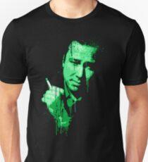 Bill Hicks (green) Unisex T-Shirt