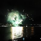 Firework Over River I by Dagoth