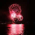 Firework Over River II by Dagoth