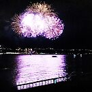 Firework Over River III by Dagoth