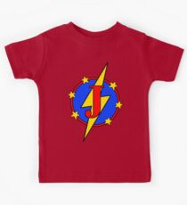 My Cute Little Super Hero - Letter J Kids Tee