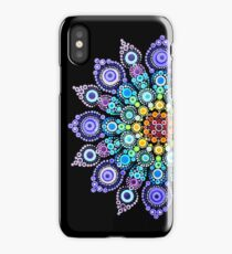 Rainbow Love Mandala iPhone Case