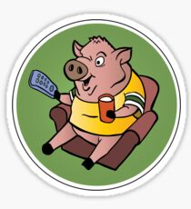 The Sports Pig Sticker