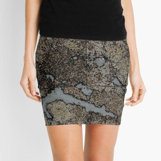 Abstract aikido Mini Skirt