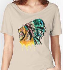 Lion Warrior Women's Relaxed Fit T-Shirt