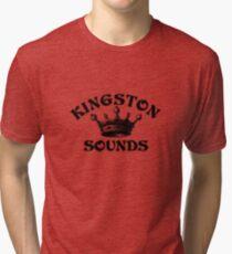 Kingston records Tri-blend T-Shirt