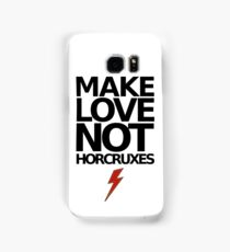 Make Love Not Horcruxes (NOW AVAILABLE IN WHITE) Samsung Galaxy Case/Skin