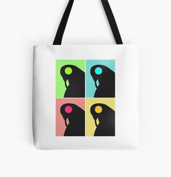 Songbird Pop Art All Over Print Tote Bag
